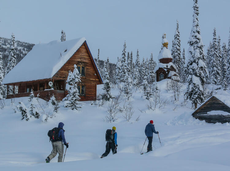 Skifahren Und Skitouren In Sibiren Im Altai Gebirge