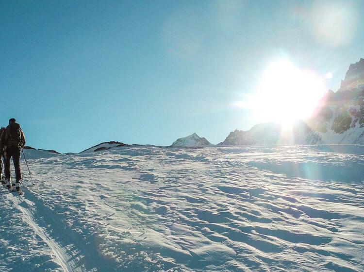 Skihochtour Grossvenediger Mit Einem Bergfuehrer