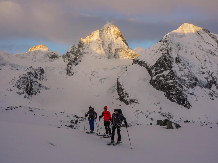 Skihochtour Tour Du Ciel Im Wallis