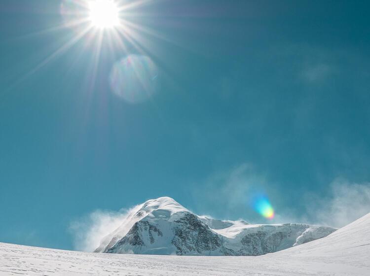 Skihochtouren Fuehrung Im Wallis