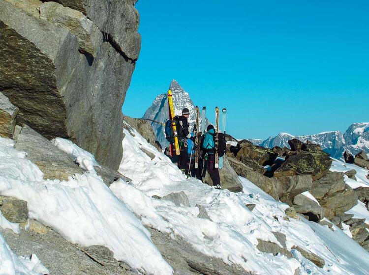 Skihochtouren Im Banne Des Matterhorn