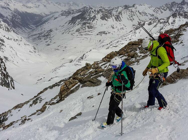 Skihochtourenkurs Mit Bergfuehrer Markus Beck Am Silvrettahorn