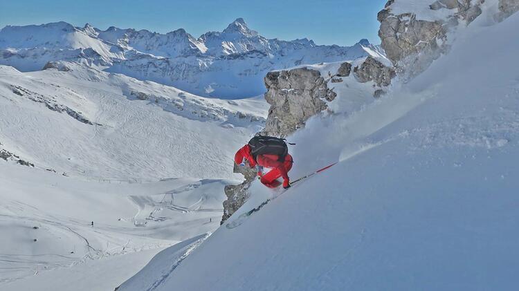 Skilehrerin Anna Hindelang Allga U Freeride