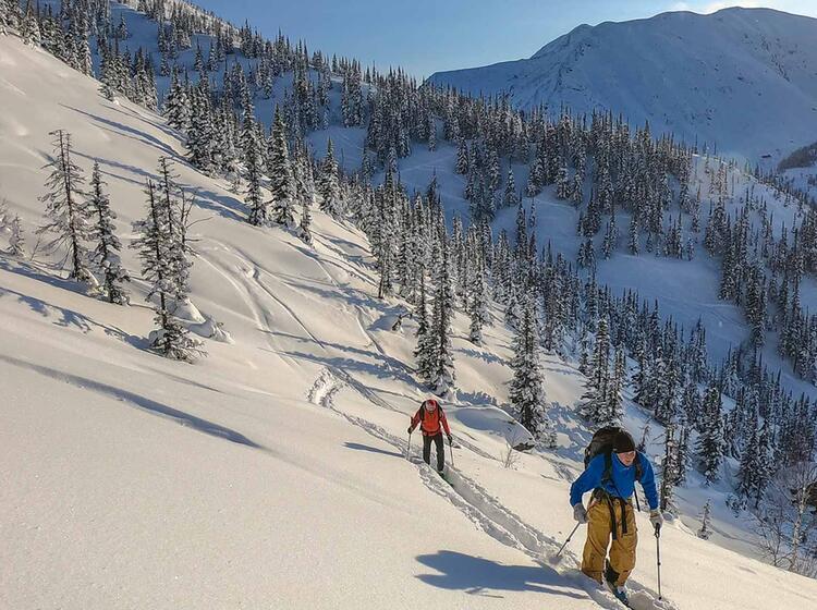 Skireise Nach Sibirien
