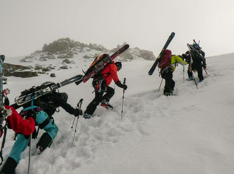 Skitour Auf Den Mont Blanc Mit Bergfuehrer