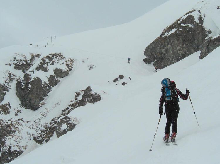 Skitour Auf Den Piz Sesvenna Im Vinschgau