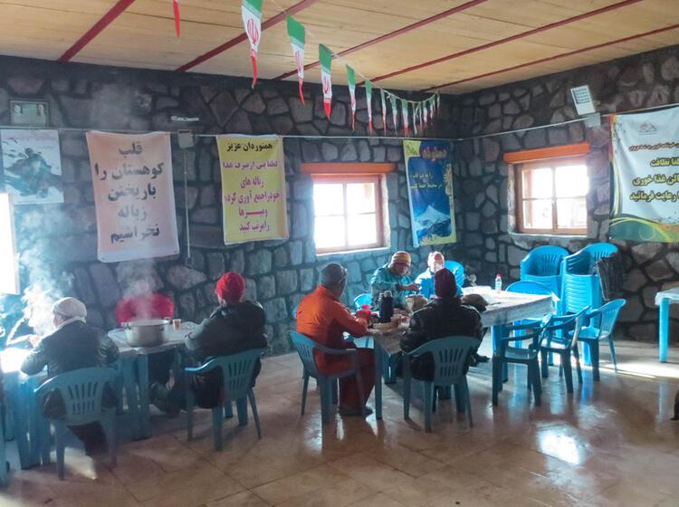Skitour Damavand Iran