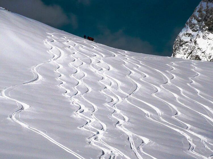 Skitour Gefu Hrt