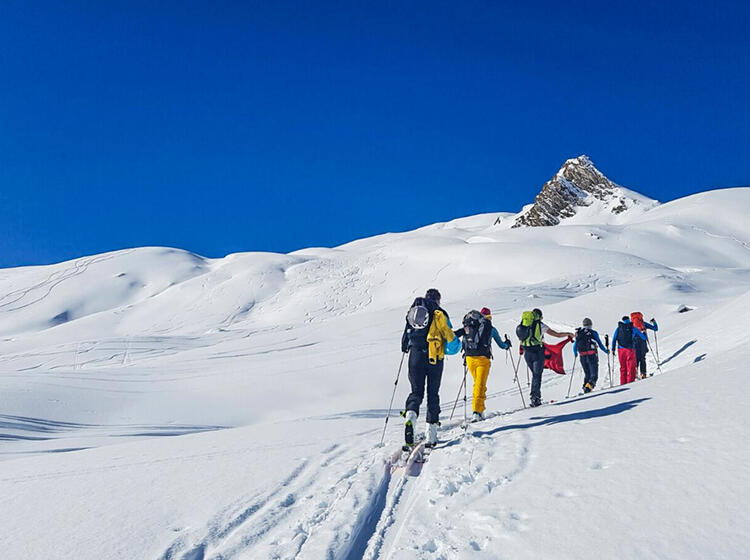 Skitour Im Zandertal Mit Bergfuehrer
