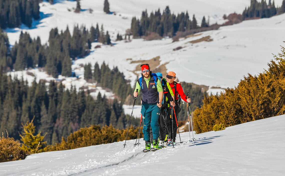 Skitour In Kirgistan Himmelsgebirge