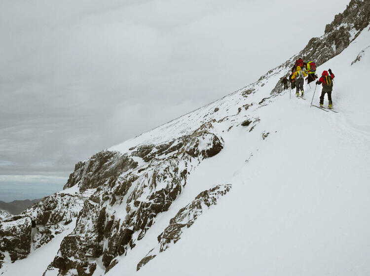 Skitour In Marokko Zum Toubkal
