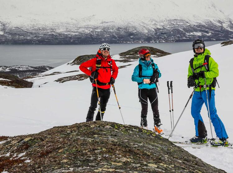 Skitour In Norwegen Im Lyngen Fjord