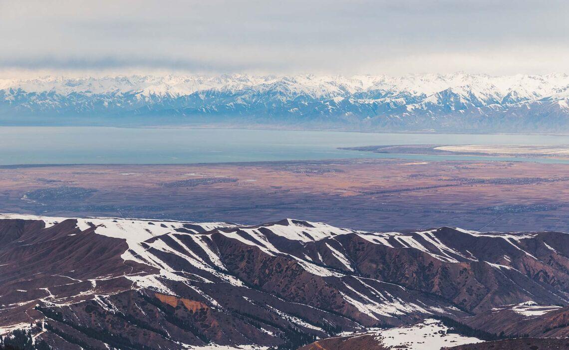 Skitour Karakol Issyk Kul