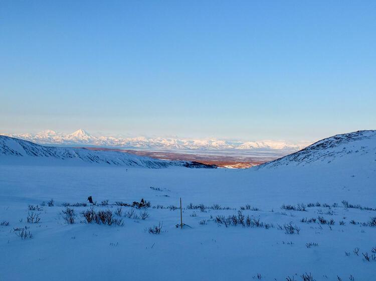 Skitour Mit Bergfuehrer In Kamtschatka