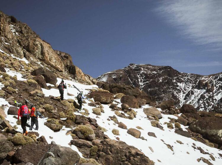 Skitour Toubkal Marokko