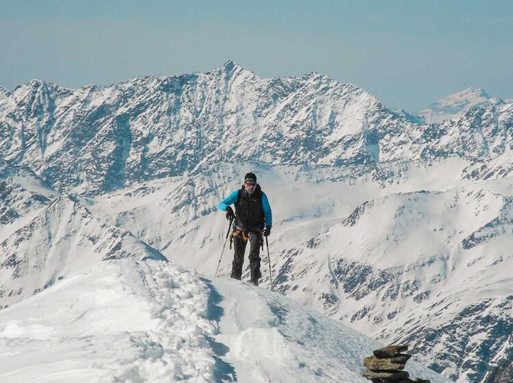 Skitour Und Schneeschuhtour Zum Grossvenediger