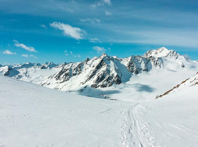 Skitour Venter Runde