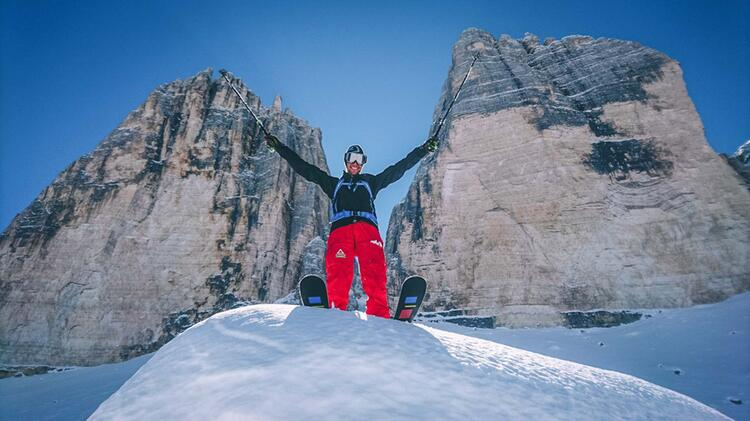 Skitour Zu Den Drei Zinnen Mit Bergfuehrer Thomas Engl