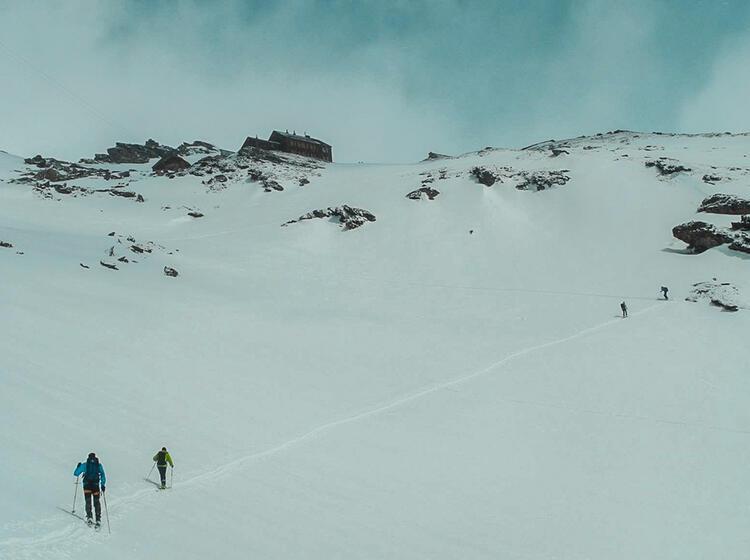 Skitour Zum Grossvenediger Von Der Kuersingerhuette