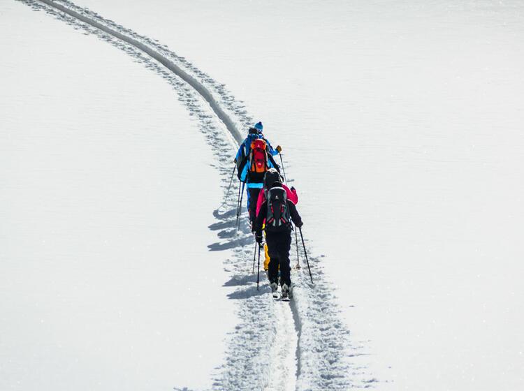Skitour Zum Piz Buin Mit Bergfuehrer Der Alpinschule