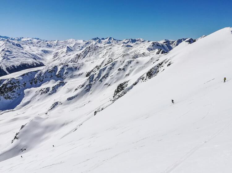 Skitour Zum Piz Lad Im Vinschgau