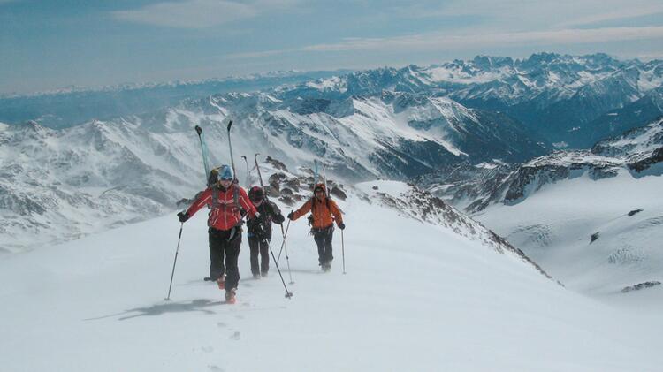 Skitouren 1