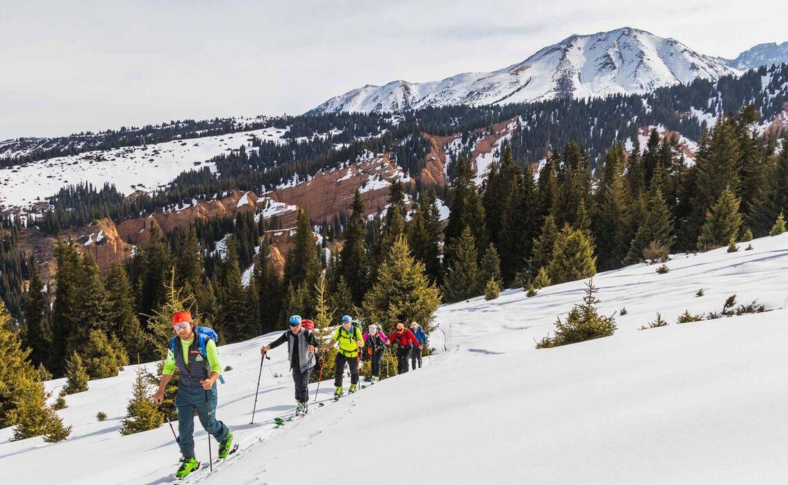 Skitouren Ab Karakol In Kirgistan