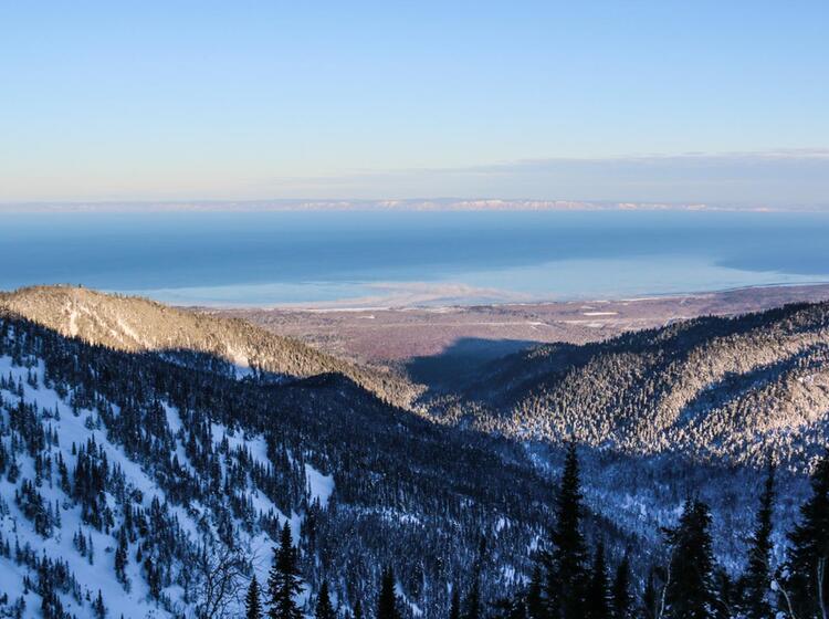 Skitouren Am Baikalsee Bei Besten Verhaeltnissen
