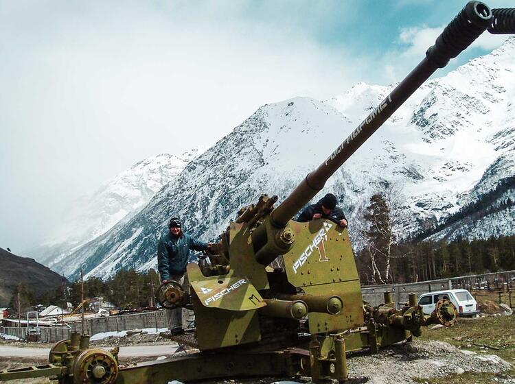 Skitouren Am Elbrus Im Kaukasus