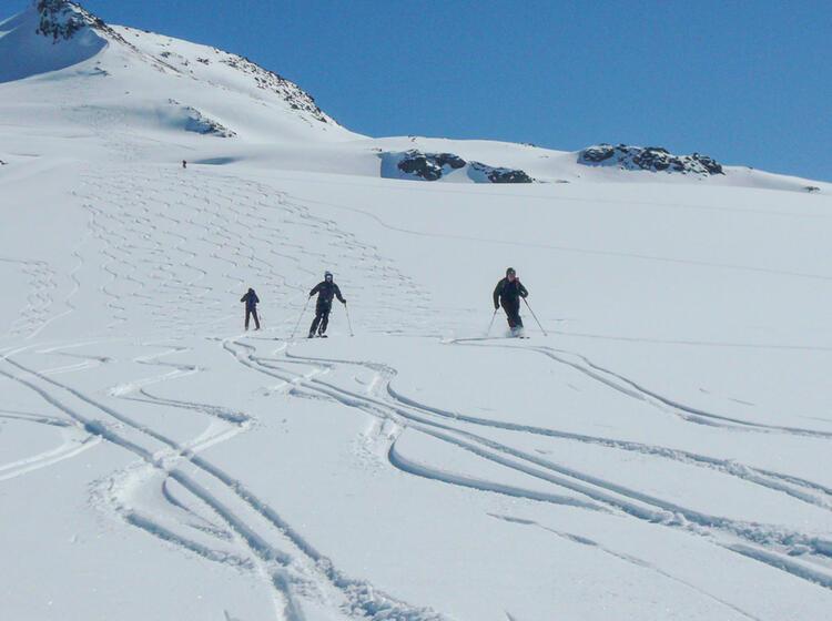 Skitouren Am Grossglockner