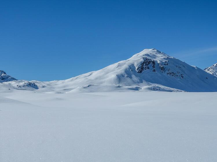 Skitouren Am Reschenpass Val Muestair