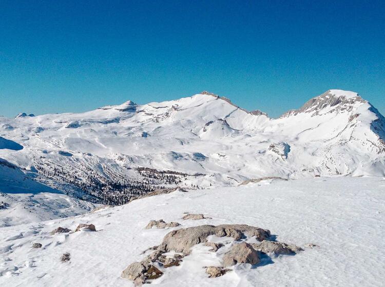 Skitouren Fanes Und Lavarella Hu Tte