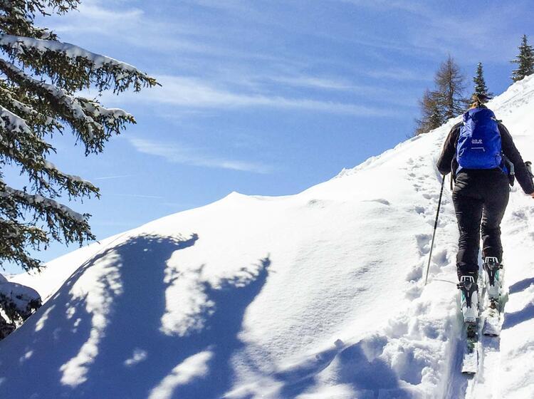 Skitouren Fuehrung Kitzbuehl