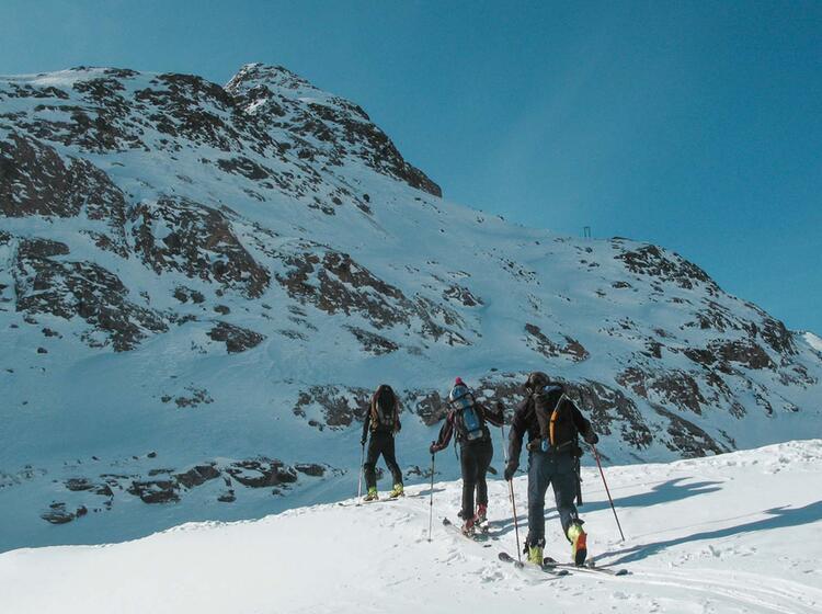 Skitouren Fuehrung