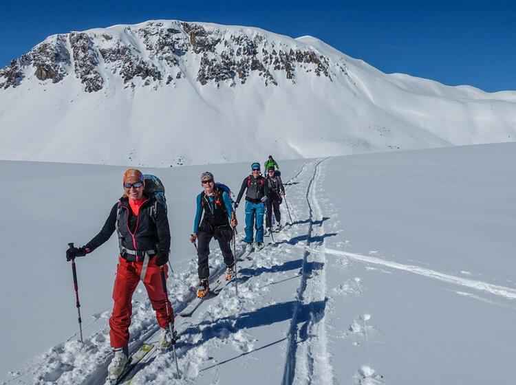 Skitouren Fuehrung Val Muestair