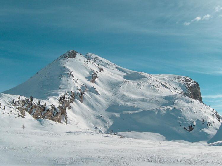 Skitouren Gebiet Fanes Dolomiten