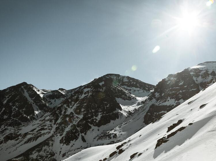 Skitouren Gebiet Hoher Atlas Toubkal Huette