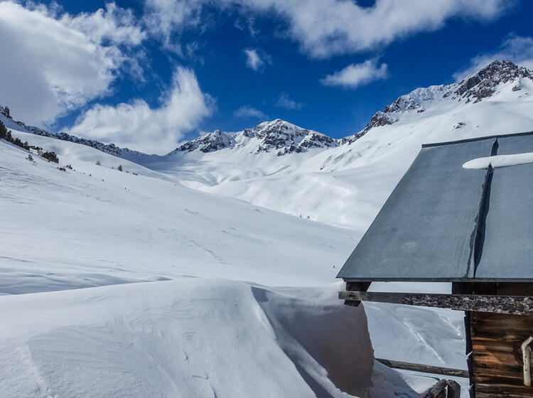 Skitouren Gebiet Val Muestair Hinter Dem Reschenpass