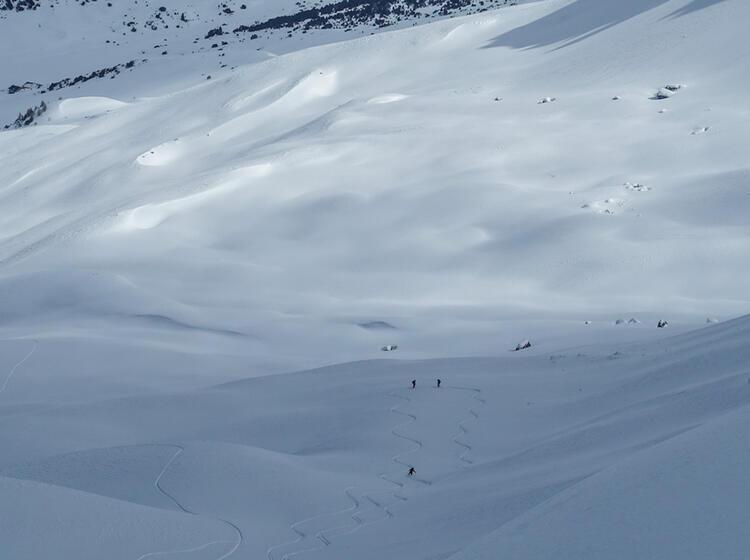 Skitouren Gebiet Val Muestair Mit Bergfuehrer