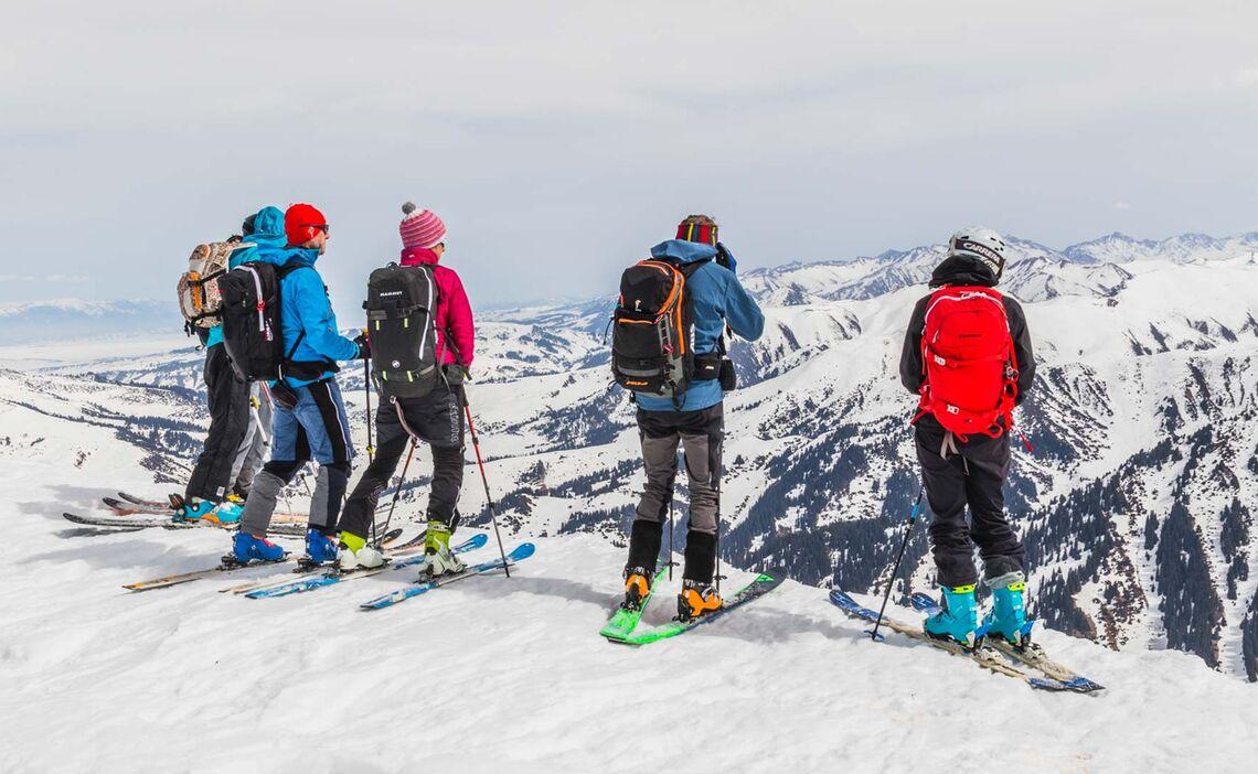 Skitouren Gebiete In Kirgistan Jergalan