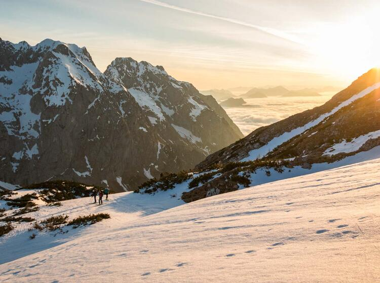 Skitouren Haute Route In Berchtesgaden Grosse Reibn