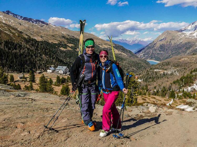 Skitouren Im Fruehjahr Auf Der Zufallhuette
