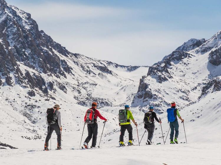 Skitouren Im Himmelsgebirge