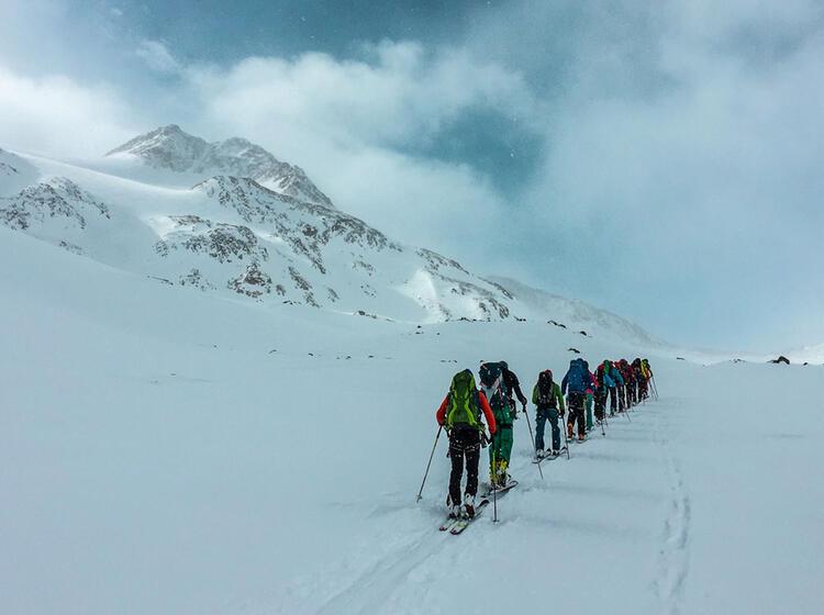 Skitouren Im Oetztal