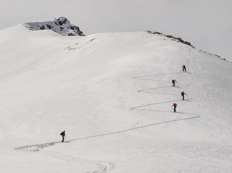 Skitouren Im Tien Shan Gebirge In Kirgisien