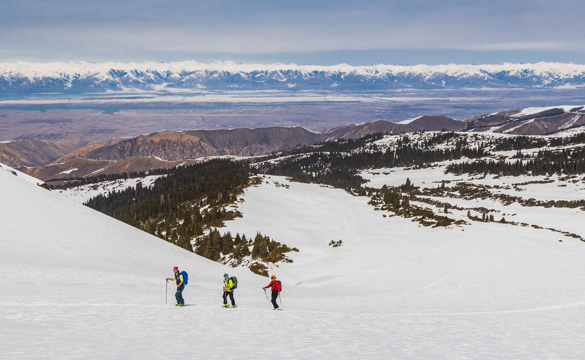 Skitouren Im Tien Shan Gebirge In Kirgistan