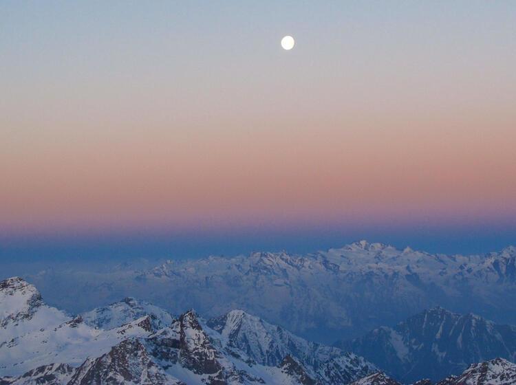 Skitouren Im Wallis Monterosa Dufour Spitze