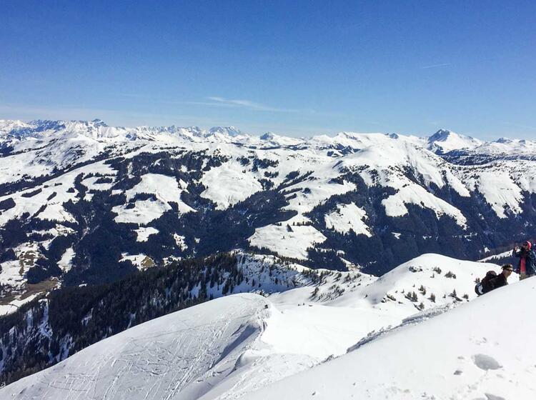 Skitouren In Den Kitzbuehler Alpen