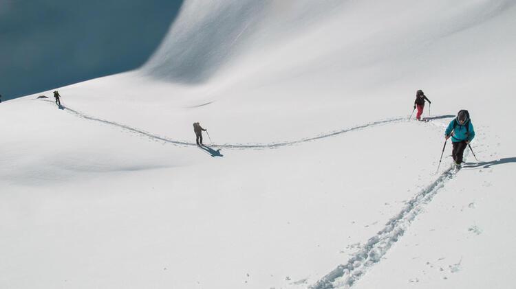 Skitouren In Der Bernina Am Piz Palue