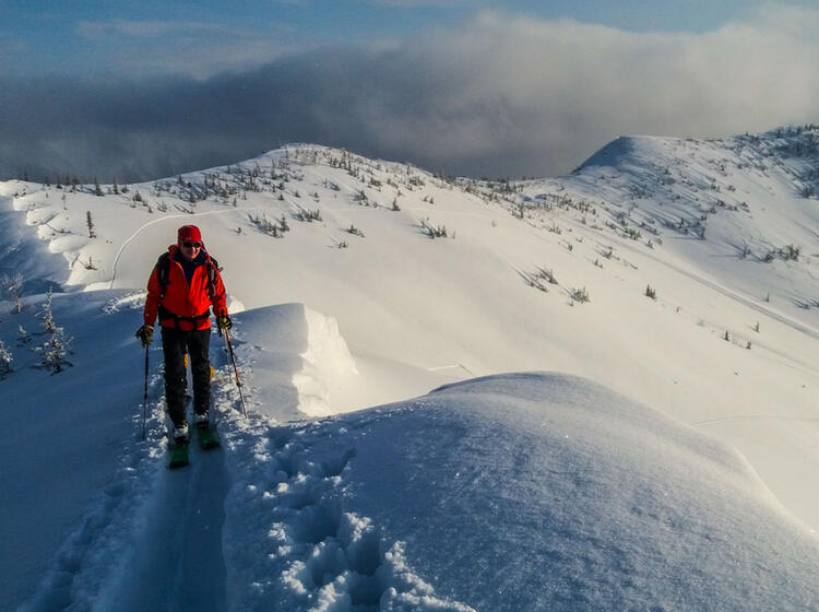 Skitouren In Irkutsk Sibirien